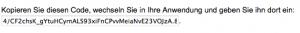 Code für die Autorisierung von Google Analyticator