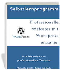 WordPress Kurs in vier Modulen