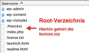 Root-Verzeichnis