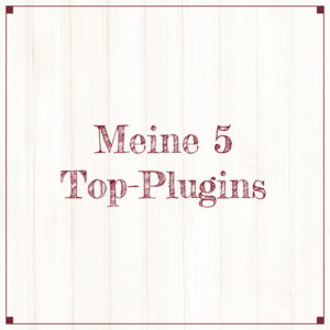 Meine 5 Top-Plugins